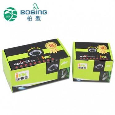 厂家定制 汽车配件刹车片产品包装纸盒通用摩托车摩配彩印盒定做