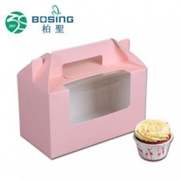 厂家定制 长方形网红毛巾卷点心盒脏脏包烘培开窗糕点盒子定做纸
