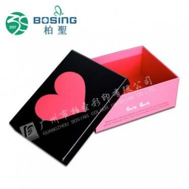 礼盒厂家专业定做天地盖硬纸盒 首饰品硬纸卡精致彩盒包装OEM订制